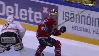 HIFK vs. JYP   Teemu Ramstedin käsittämätön maali