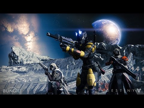 Destiny- THE WORLD'S GRAVE Ocean of Storms, Moon (Mission) (Destiny Gameplay)