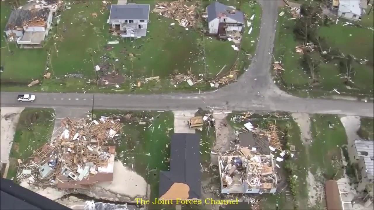 Coast Guard aerial footage shows Harvey devastation