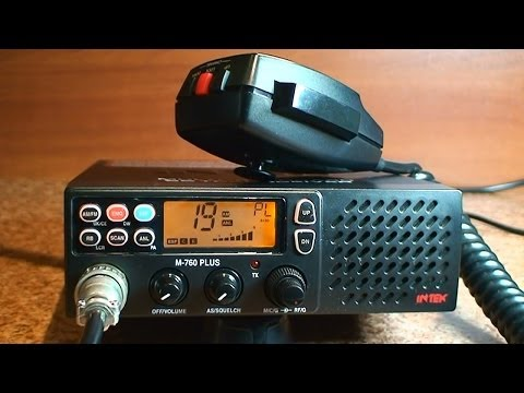 INTEK M 760 PLUS - Zanim kupisz cb radio - Test # 15