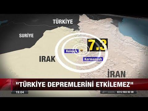 Irak depremi Türkiye'yi etkiler mi? - 13 Kasım 2017