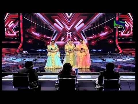 X Factor India - Sajda Sisters performing Piya Tose Naina Lage...