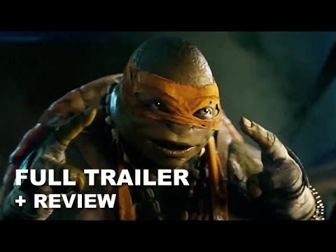 Teenage Mutant Ninja Turtles 2014 Official Trailer + Trailer Review : HD PLUS