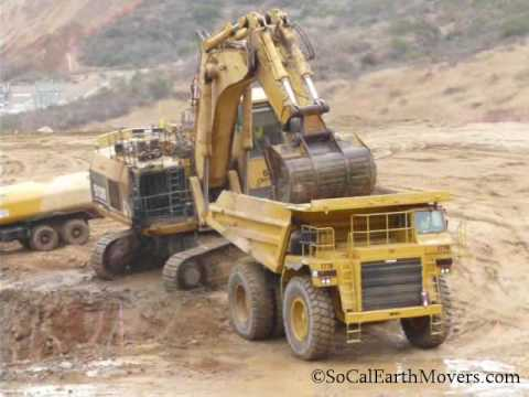 Watch Repowered CAT 5130 loading repowered 777B's clip 2