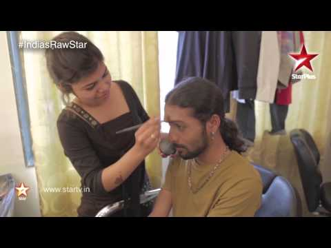 India's Raw Star Web Exclusives: Catch the Raw Stars don the make up!
