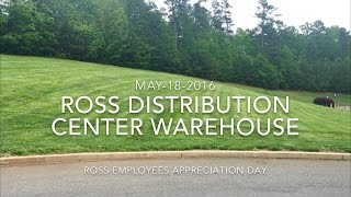 Ross Distribution Center Ware House.  May,18,2016 4K Video