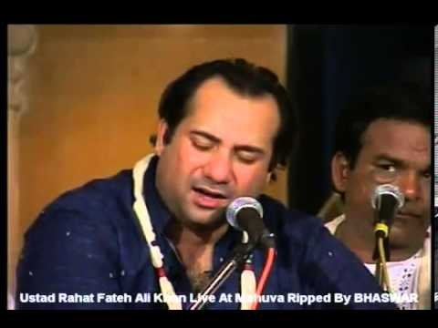 RAHAT FATEH ALI KHAN MANN KI LAGAN LIVE SOLO TABLA VERSION