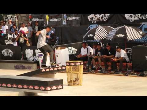 Maloof Money Cup DC 2011 Finals - Bastien Salabanzi vs Ronnie Creager