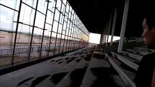 EXPLORING AN ABANDONED HORSE TRACK..