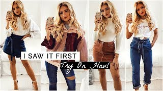 I SAW IT FIRST TRY ON HAUL 2018 / AD