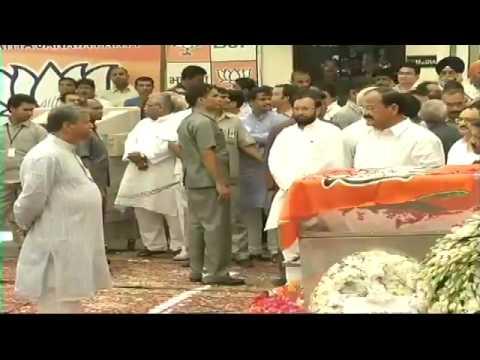 Union Minister Shri Gopinath Munde passes away