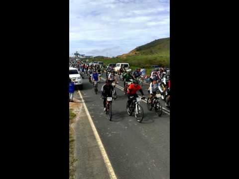Salida XV Reto Frontera MTB 2013