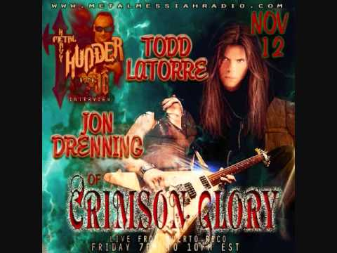 CRIMSON GLORY Exclusive Interview with Jon Drenning and Todd La Torre (Part 4/4)