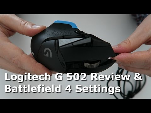 Logitech G502 Review & Battlefield 4 Settings