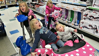 TOY HUNT AT TOYS R US! | BIRTHDAY PRESENT EDITION