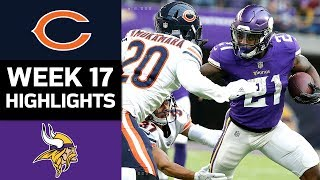 Bears vs. Vikings | NFL Week 17 Game Highlights