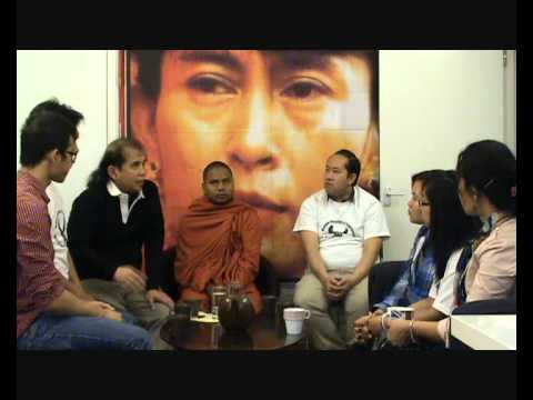 Burma Democratic Concern (BDC) & Saffron Buddhist Monk Leader U Htavara on Rohingya
