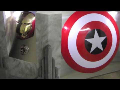 The avengers movie themed desk custom furniture youtube