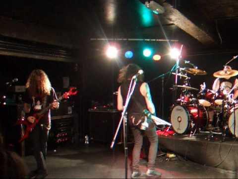 Evile - Nosophoros - live @ Glasgow Cathouse 17/01/10