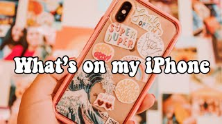 what's on my iPhone xs