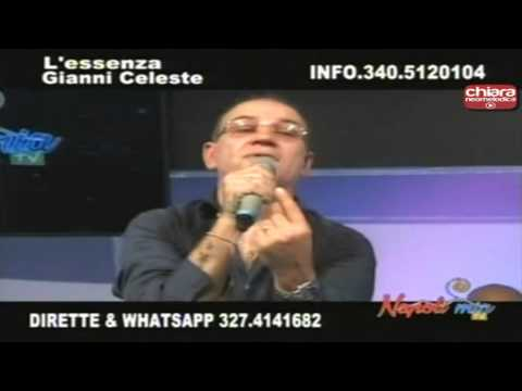 Gianni Celeste - Te credevo sincera (Live Napoli Mia)