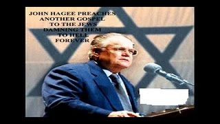 John Hagee's Book Tells Jews Moses NOT Jesus Is Your Messiah! Jesus NEVER Claimed 2B + MUCH MORE!