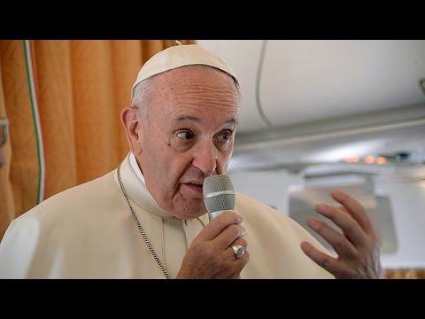 El papa Francisco afirma que