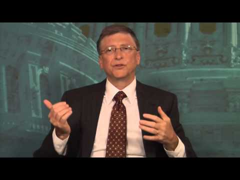Bill Gates talks about the Global Grand Challenges for Engineers