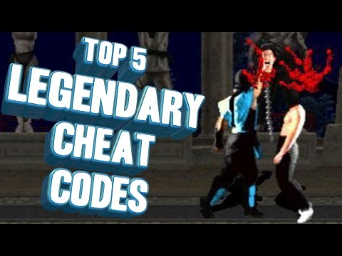 Top 5 - Legendary cheat codes