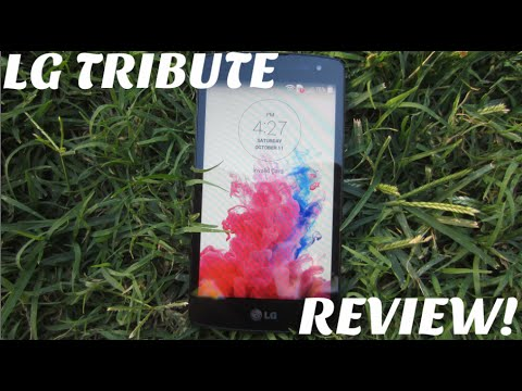 LG Tribute 4G Review (Virgin Mobile)