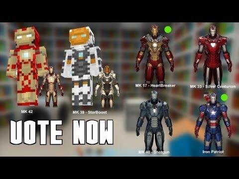 Скачать Майнкрафт мод на Железного Человека 1.5.2