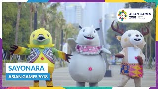 Sayonara Asian Games 2018