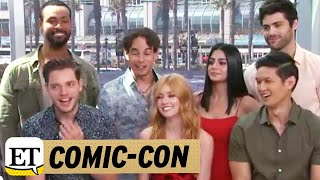 Comic Con 2017: LIVE with 'Shadowhunters' Cast!