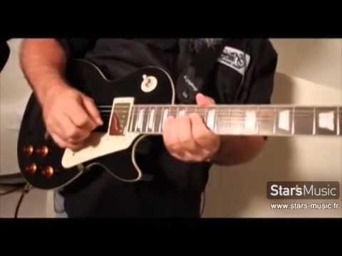 EPIPHONE Les Paul Standard - présentation des guitares électriques
