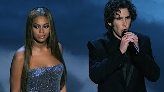 Beyonce Feat Josh Groban Believe Live Oscar 2005 Hd