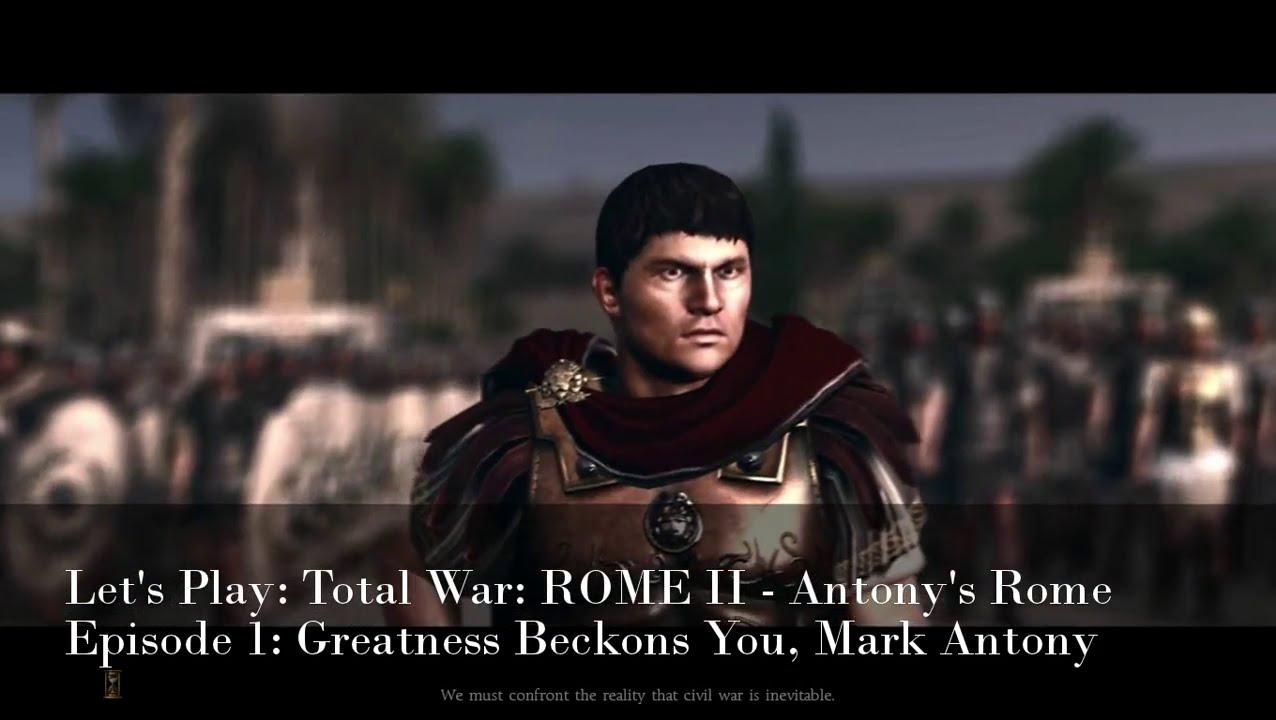 HBO Rome Mark Antony vs Octavian - YouTube