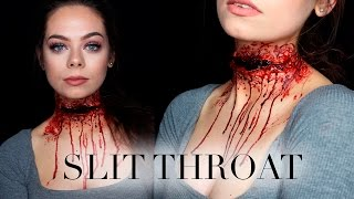 SLIT THROAT - SFX Makeup Tutorial