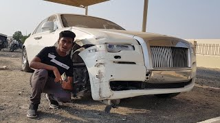 CRASHED ROLLS ROYCE SHOPPING IN DUBAI | SUPERCAR CEMETERY |