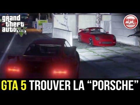 GTA 5 // Trouver la PORSCHE / Comet (Localisation) - Voiture Rapide et Sportive | FPS Belgium