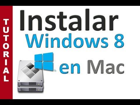 Instalar windows 8 en Mac con BootCamp (actualizado)