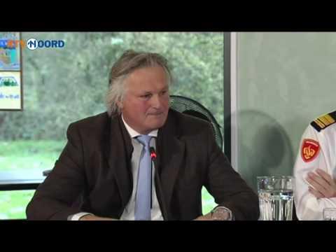 Betrokken partijen geven persconferentie over treinongeluk bij Winsum - RTV Noord