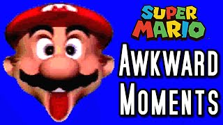 Super Mario TOP 8 AWKWARD MOMENTS (Wii, GC, N64)