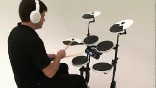 Roland V-Drums Portable TD-4KP Kit Examples 1 (Acoustic Sounds)