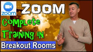 Zoom-Complete training in Breakout Rooms #teachonline #zoom