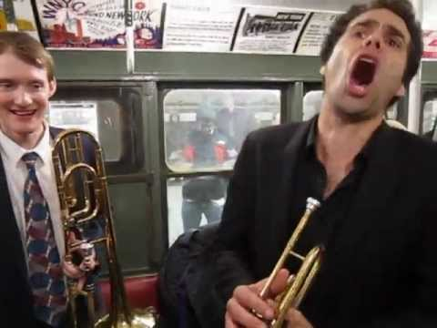 Sly Blue - Vintage 1930s Subway Car Ride New York City - HOT JAZZ BAND
