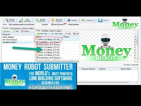 Money Robot Submitter Review-The Most Effective Link Building SEO Software In 2018