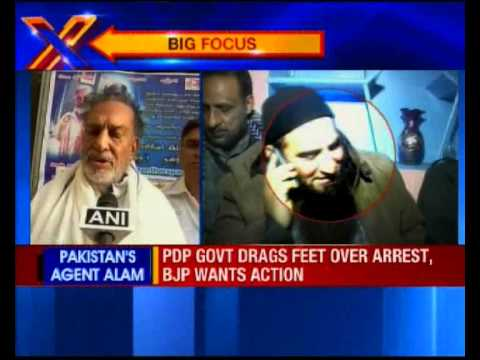 Rajnath Singh Asks Mufti To Act Against Masarat Alam
