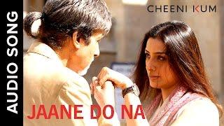 Jaane Do Na | Full AudioSong | Cheeni Kum | Amitabh Bachchan & Tabu