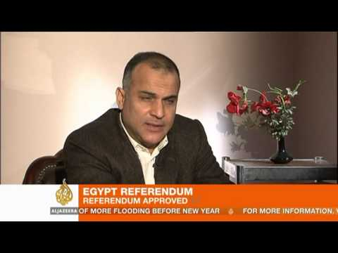 Egypt approves disputed draft constitution