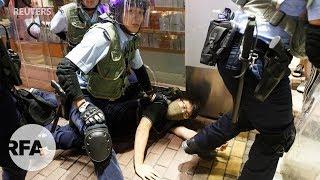 Trăm ngàn người Hồng Kông biểu tình ngay khu du khách Trung Quốc đại lục viếng thăm